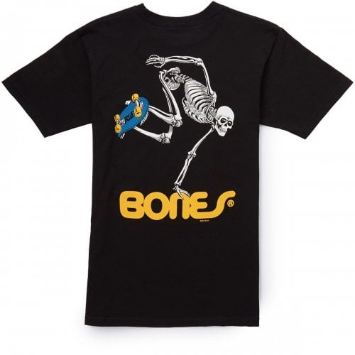 Camiseta Powell Peralta: Skateboard Skeleton BK