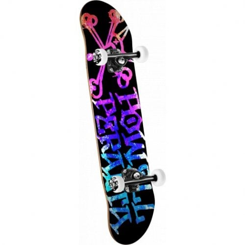 Skate Completo Powell Peralta: Vato Rat Paint Pink Blue 8.0
