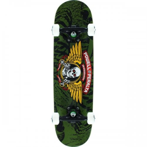 Skate Completo Powell: Winged Ripper Olive 7.5