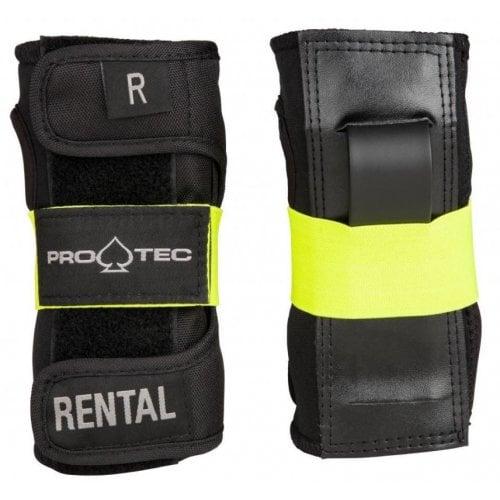 Muñequeras Pro-Tec: Pad Rental Wrist Guard BK/YL