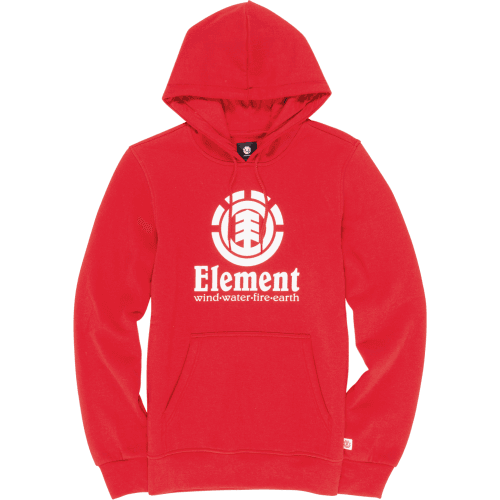 Sudadera Element: Fire Red Vertical HO RD