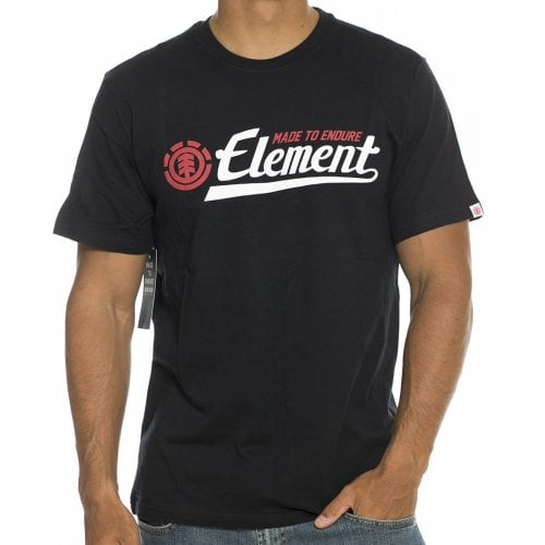 Camiseta Element: Signature SS Flint BK