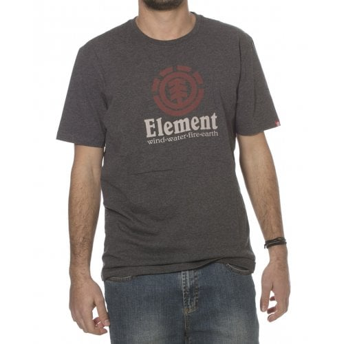 Camiseta Element: Vertical SS Charcoal GR