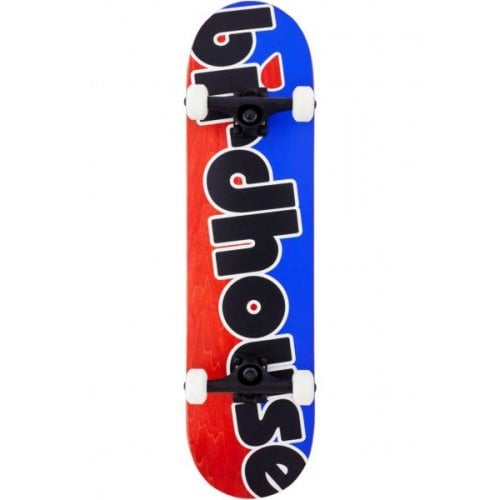 Skate Completo Birdhouse: Stage 3 Toy Logo Blue/Red 8.0