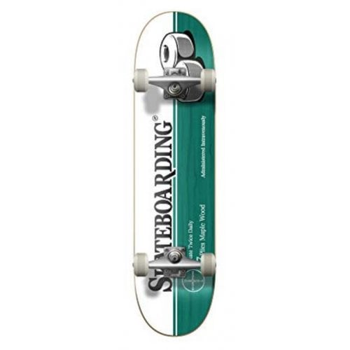 Skate Completo Hydroponic: Medicine Turquoise 7.75