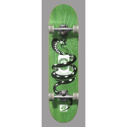 Skate Completo Hydroponic: Snake Green 7.8
