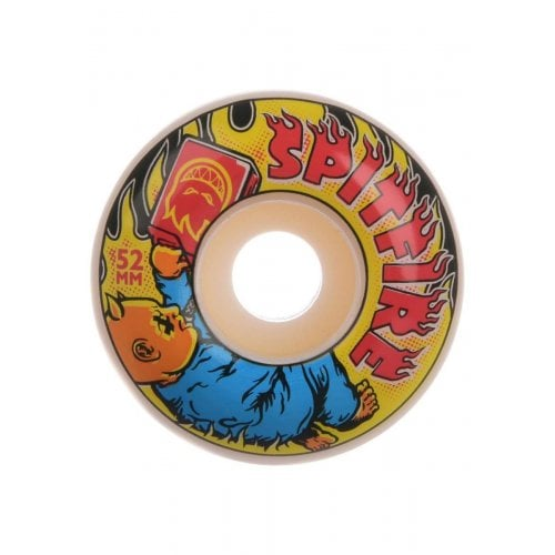 Ruedas Spitfire: Demonseed 99D White (52mm)