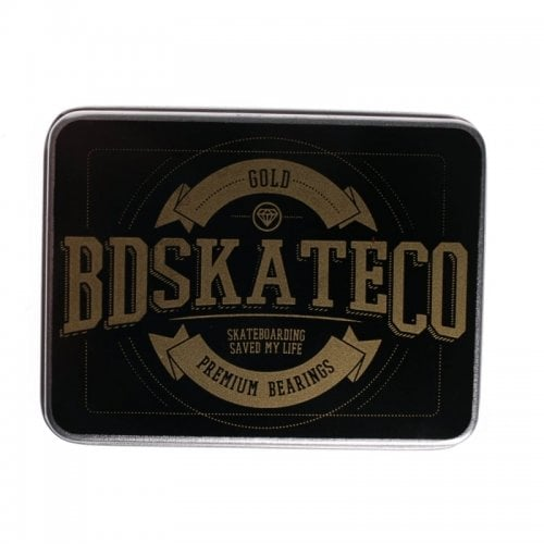 Rodamientos BDSkateCO: Metal Box Gold