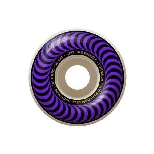 Ruedas Spitfire: F4 101 Classic Purple (58mm)
