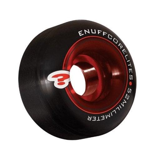 Ruedas Enuff: Corelites Black/Red (52 mm)