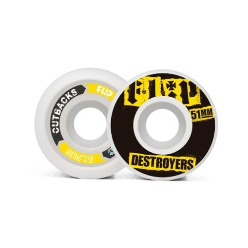 Ruedas Flip: Cutback Black (51 mm)