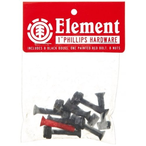 Tornillos Element: Hardware Phillips 1""