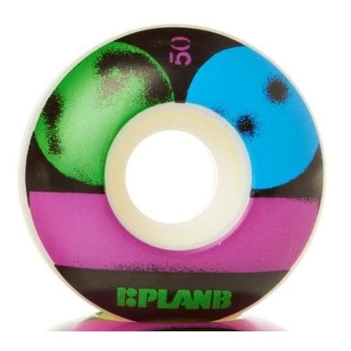 Ruedas Plan B: Stencil PGB (50 mm)