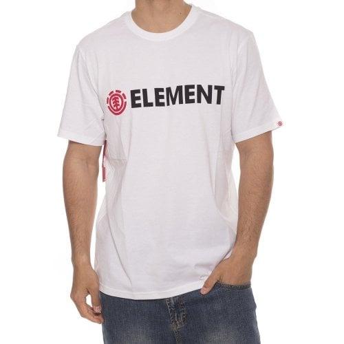 Camiseta Element: Blazin SS Optic WH