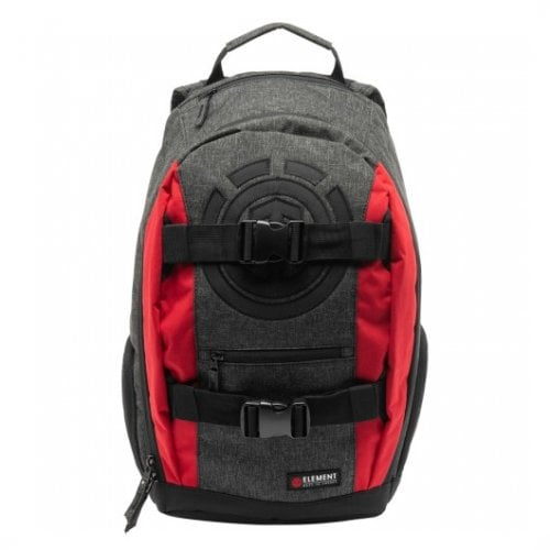 Mochila Element: Charcoal Heather Mohave GR/RD