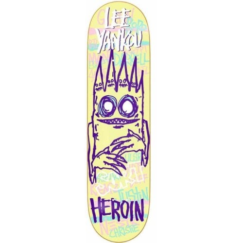 Tabla Heroin Skateboards: Yankou IMP 8.25