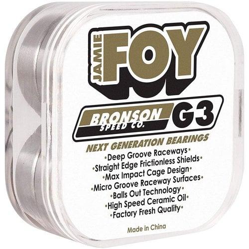 Rodamientos Bronson Speed Co: G3 Jamie Foy