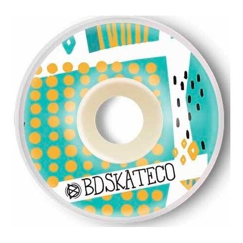 Ruedas BDSkateCO: Leaves #2 (52 mm)