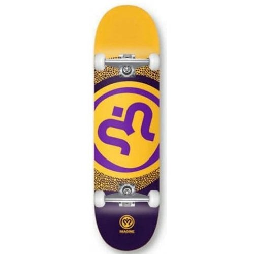 Skate Completo Imagine: Round Yellow 8.0
