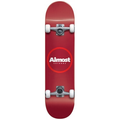 Skate Completo Almost: Red Ringer Yth FP Red 7.25x29.2