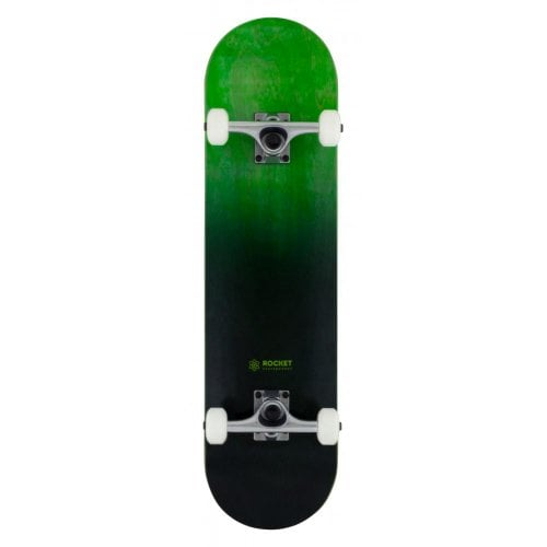 Skate Completo Rocket: Double Dipped Black 8.0x31.5