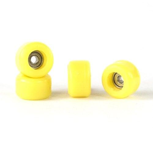 Ruedas Fingerboards Bollie: Bearing Wheels Yellow