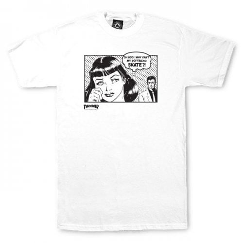 Camiseta Thrasher: Boyfriend WH
