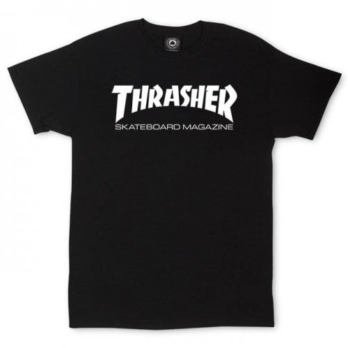 Camiseta Thrasher: Skate Mag BK