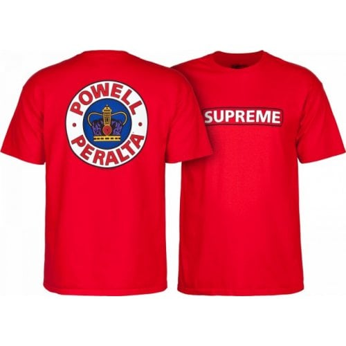 Camiseta Powell Peralta: Supreme Red