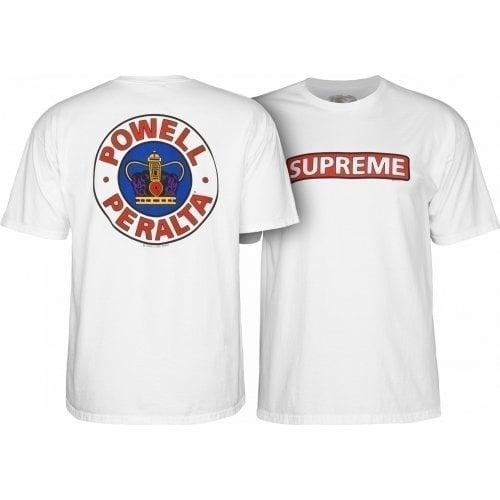 Camiseta Powell Peralta: Supreme White