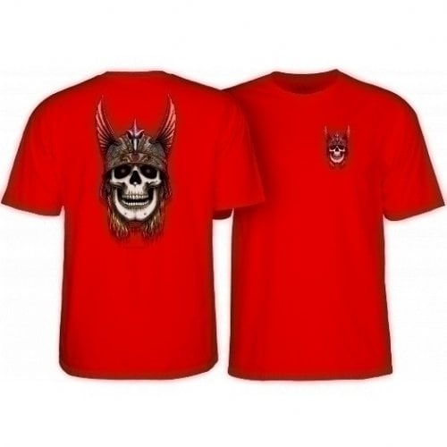 Camiseta Powell Peralta: Andy Anderson Skull Red