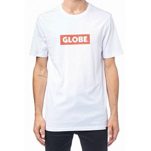 Camiseta Globe: Box Tee WH