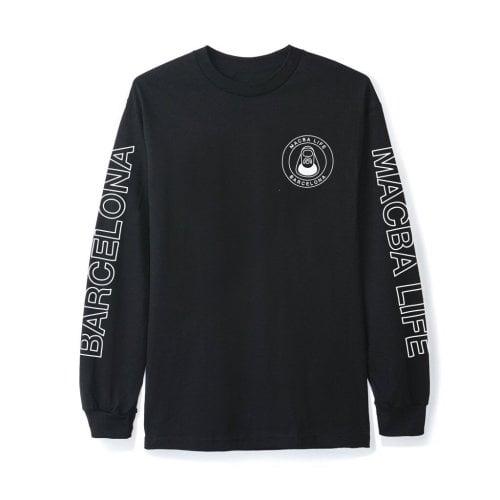 Camiseta de manga larga Macba Life: Free Hand BK