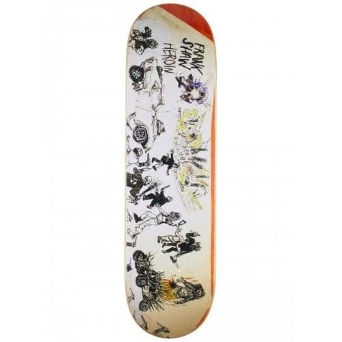 Tabla Heroin Skateboards: Frank Shaw Apocalypse 8.6