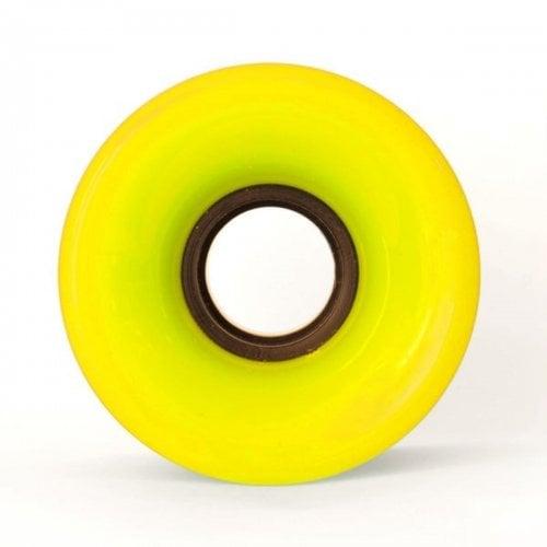 Ruedas Cruiser: Yellow Neon (60mm)