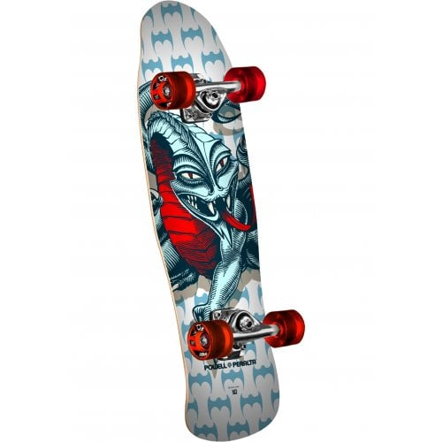 Skate Completo Powell Peralta: Mini Cab Dragon White 8.0