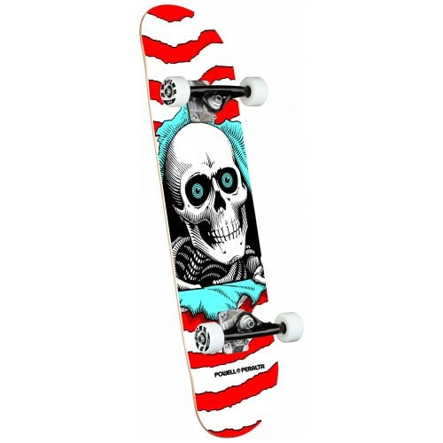 Skate Completo Powell Peralta: Ripper One Off Birch Red 8.0