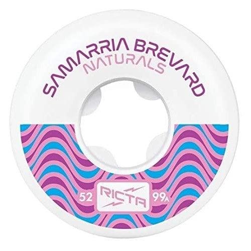 Ruedas Ricta: Samarria Bevard Natural 99A (52mm)