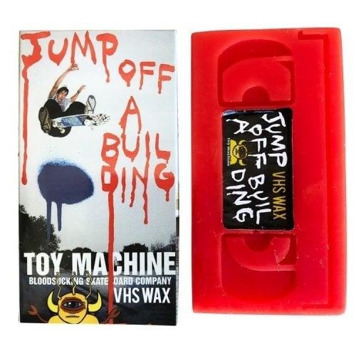 Cera Toy Machine: Wax Jump off a building