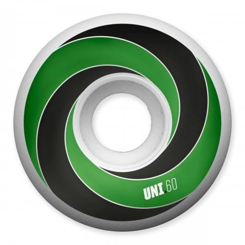 Ruedas Universal: Spiral 101A Green (60mm)