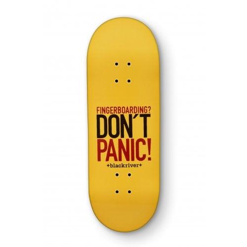 Tabla Fingerboard Blackriver: X-Wide Dont Panic 33.3mm