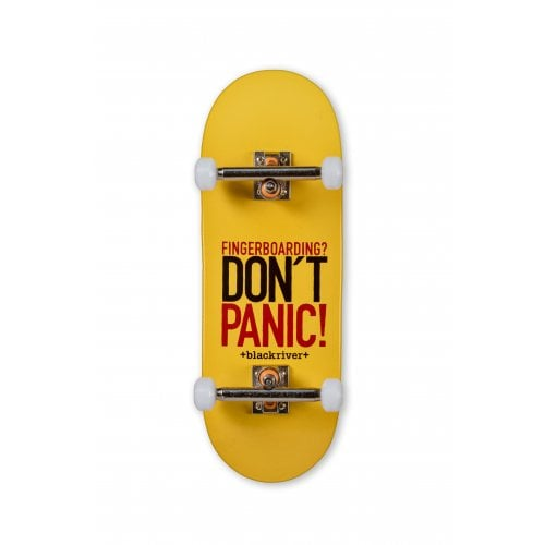 Completo Fingerboard Blackriver : X-Wide 7-ply Dont Panic Set 33.3mm