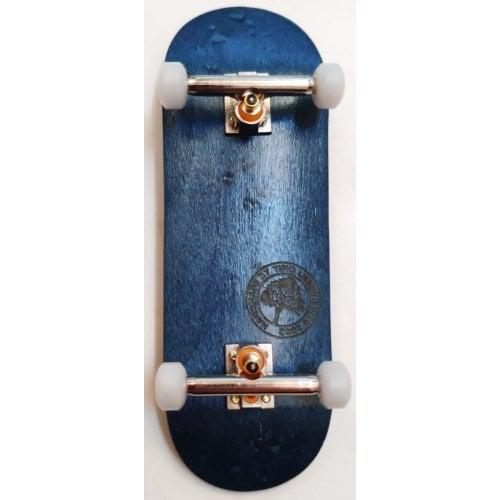 Completo Fingerboard BerlinWood: BW Minilogo Blue Set Wide 32mm