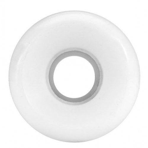 Ruedas Rellik: Blank White 100A (54mm)