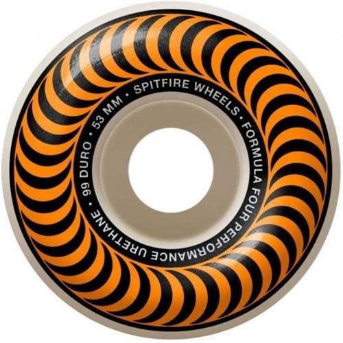 Ruedas Spitfire: F4 97 Classic Orange (53mm)