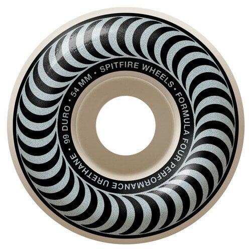 Ruedas Spitfire: F4 Classics Silver (54mm)