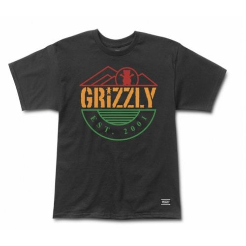 Camiseta Grizzly: Higher Standard SS Tee BK