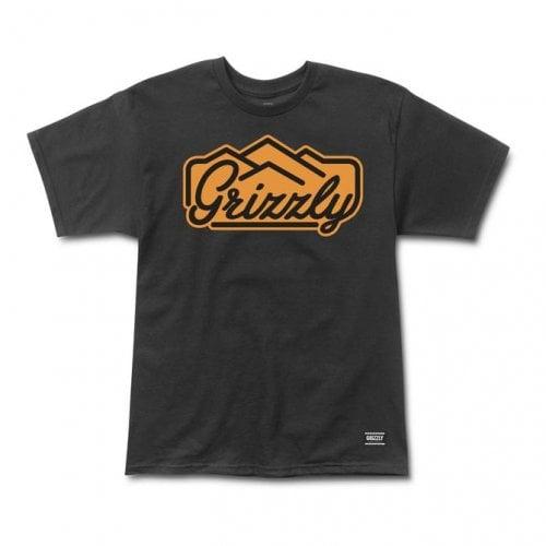Camiseta Grizzly: Peacking SS Tee BK