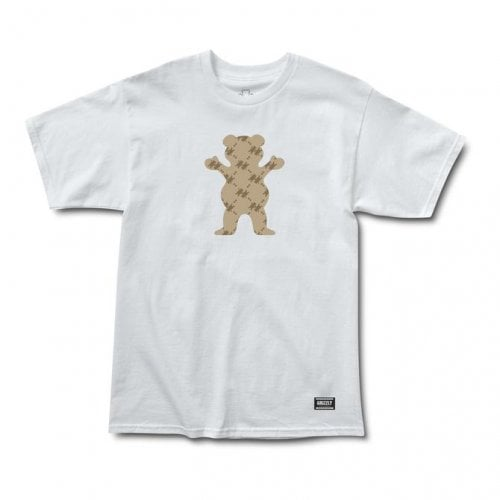 Camiseta Grizzly: Lap Of Luxury Bear SS Tee WH