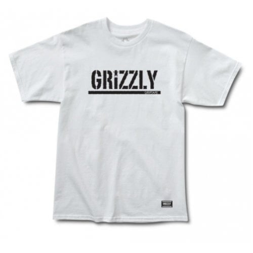 Camiseta Grizzly: Stamp SS Tee WH